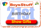 Boys Stuff 21st Birthday Gift Ideas