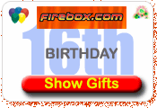 Firebox Presents ideas for 16th birthday