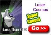 Ultra Cool Laser Cosmos Projector