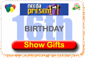 Need A Present 16th Birthday Gift Ideas